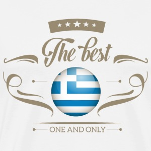 The Best Griechenland - Greece Langarmshirts - Männer Premium T-Shirt