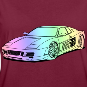 cool car colourful Sweatshirts - Dame oversize T-shirt