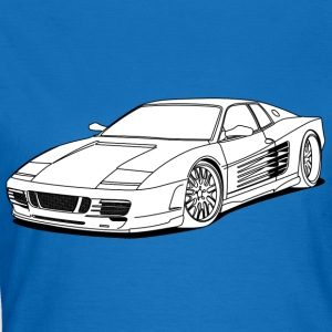 cool car white Sweatshirts - Dame-T-shirt