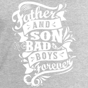 Father and Son Bad Boys Forever Langarmshirts - Männer Sweatshirt von Stanley & Stella