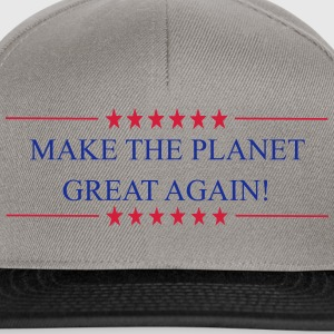 Make the Planet Great Again! - Snapback Cap