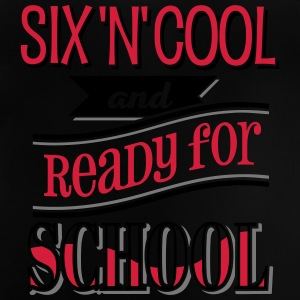 Six, cool and ready for school 3C - Baby T-Shirt
