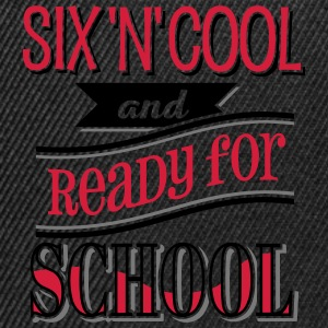 Six, cool and ready for school 3C - Snapback Cap