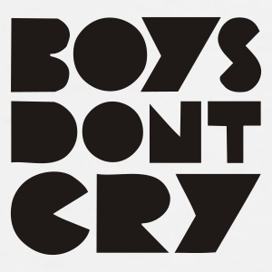 BOYS DON'T CRY - Herre premium T-shirt