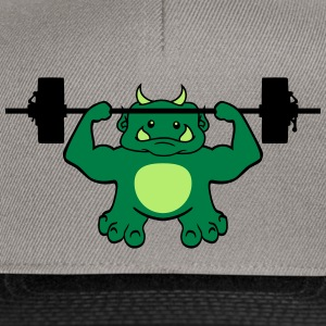 Dumb, exercise, exercise, cute, cute, ogre, ork, t T-Shirts - Snapback Cap