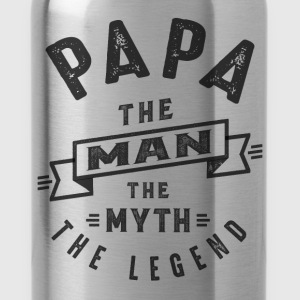 Papa The Myth - Water Bottle