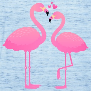 Flamingo Love Couple Koszulki - Tank top damski Bella