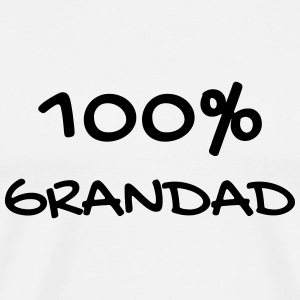 Grandfather Grandpa Family Papi Papy Großvater  Aprons - Men's Premium T-Shirt