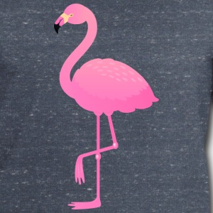 Cute Pink Flamingo Illustration T-shirts - Sweatshirt herr från Stanley & Stella