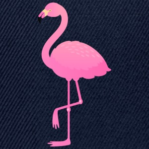 Cute Pink Flamingo Illustration T-shirts - Snapbackkeps