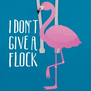 I Don't Give A Flock | Funny Flamingo Quote Design Tee shirts - Sweat-shirt contraste