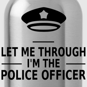 let me through i'm the police officer Tee shirts - Gourde