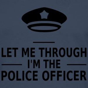 let me through i'm the police officer Tee shirts - T-shirt manches longues Premium Homme