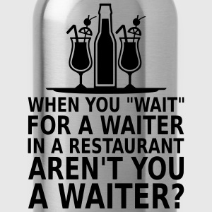 waiter T-Shirts - Water Bottle
