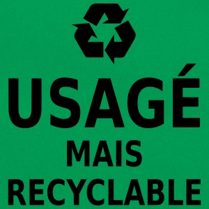 usagé mais recyclable T-Shirts - Retro Bag