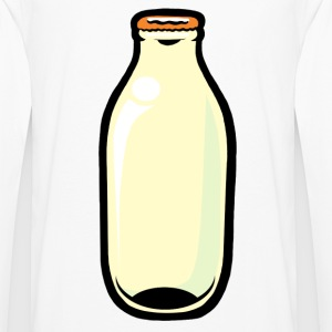 White Milk Bottle Mugs  - Men's Premium Longsleeve Shirt
