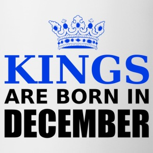 kings are born in december T-Shirts - Mug
