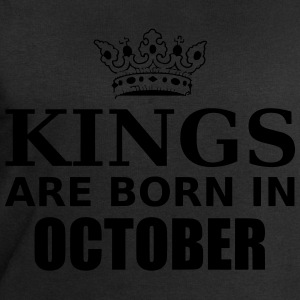 kings are born in october T-Shirts - Men's Sweatshirt by Stanley & Stella