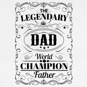 The Legendary Dad World Champion Father T-Shirts - Baseball Cap