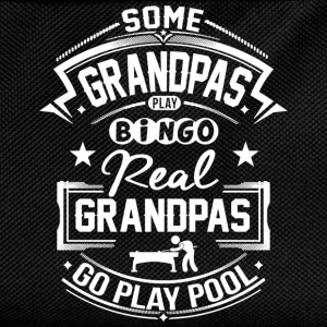 Grandpas Go Play Pool T-Shirts - Kinder Rucksack