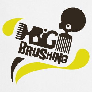 Big brushing Badges - Tablier de cuisine