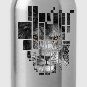 Pixel Lion Tattoo Inspire T-Shirts - Water Bottle