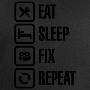 Eat Sleep Fix Repeat - Duct Tape T-Shirts - Männer Sweatshirt von Stanley & Stella