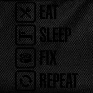 Eat Sleep Fix Repeat - Duct Tape T-Shirts - Kinder Rucksack
