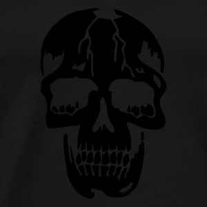 Zwart original death skull pirate Baby body - Mannen Premium T-shirt