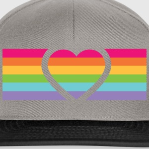 Rainbow Love Tee shirts - Casquette snapback