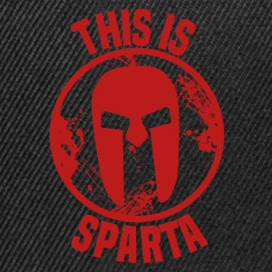 this is sparta T-Shirts - Snapback Cap