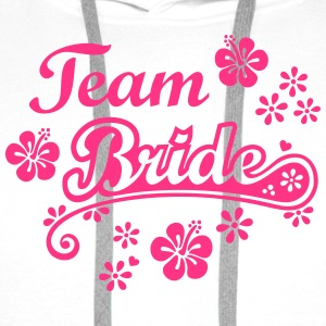 hens night Team Bride to be  bachelorette party  Tops - Men's Premium Hoodie