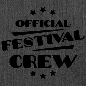 Official Festival Crew Tops - Schultertasche aus Recycling-Material