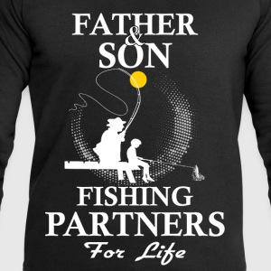 Father And Son Fishing Partners For Life T-Shirts - Men's Sweatshirt by Stanley & Stella