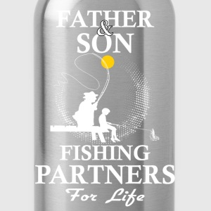 Father And Son Fishing Partners For Life T-Shirts - Water Bottle