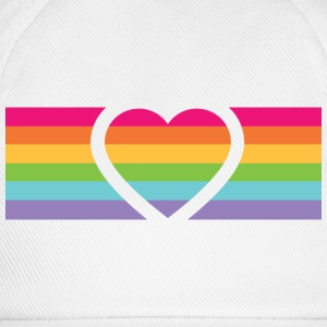 Rainbow Love T-shirts - Baseballcap