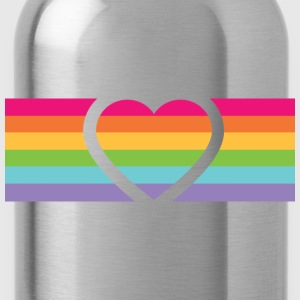 Rainbow Love T-Shirts - Trinkflasche