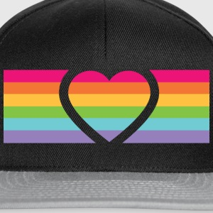 Rainbow Love T-Shirts - Snapback Cap