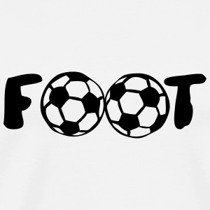 foot ballon mot football club Vêtements de sport - T-shirt Premium Homme
