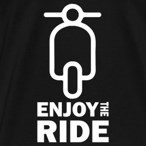 Enjoy The Ride - Vespa Pullover & Hoodies - Männer Premium T-Shirt