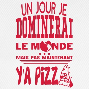pizza jour dominerai citation monde main Sweat-shirts - Casquette classique