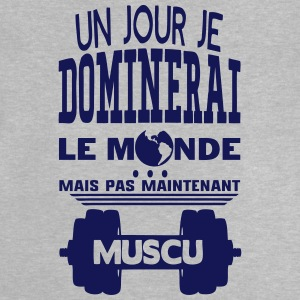 muscu jour dominerai citation monde main Tee shirts - T-shirt Bébé