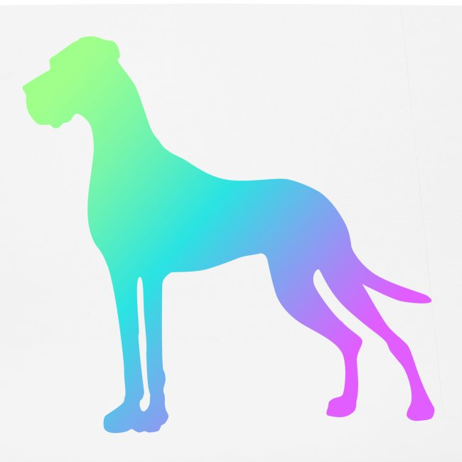 Grüne Dogge