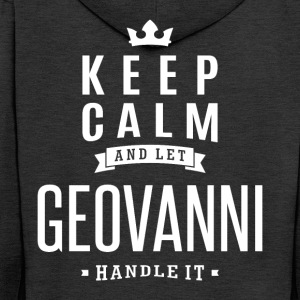 Let Geovanni Handle It! - Men's Premium Hooded Jacket