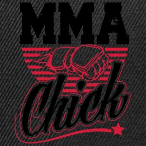 MMA chick Tee shirts - Casquette snapback