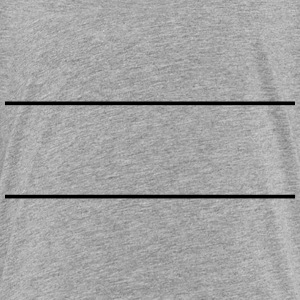 Zwei Striche Linien T-Shirts - Teenager Premium T-Shirt