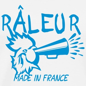 raleur citation coq porte voix made  Vêtements de sport - T-shirt Premium Homme