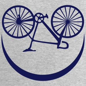 cyclisme velo smiley sourire smile Débardeurs - Sweat-shirt Homme Stanley & Stella