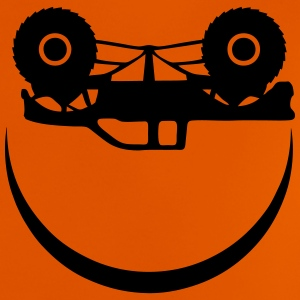 monster truck smiley sourire smile Tee shirts - T-shirt Bébé
