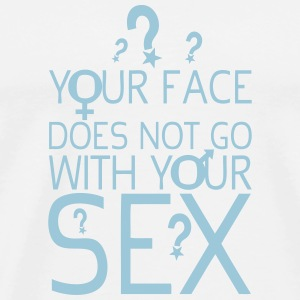 your face does not citation sex 2 with  Vêtements de sport - T-shirt Premium Homme